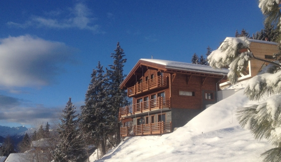 Luxury chalet in Anzere – example property.